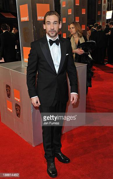 Actor Joseph Mawle attends the Orange British Academy Film Awards 2012 at the Royal Opera House on February 12 2012 in London England