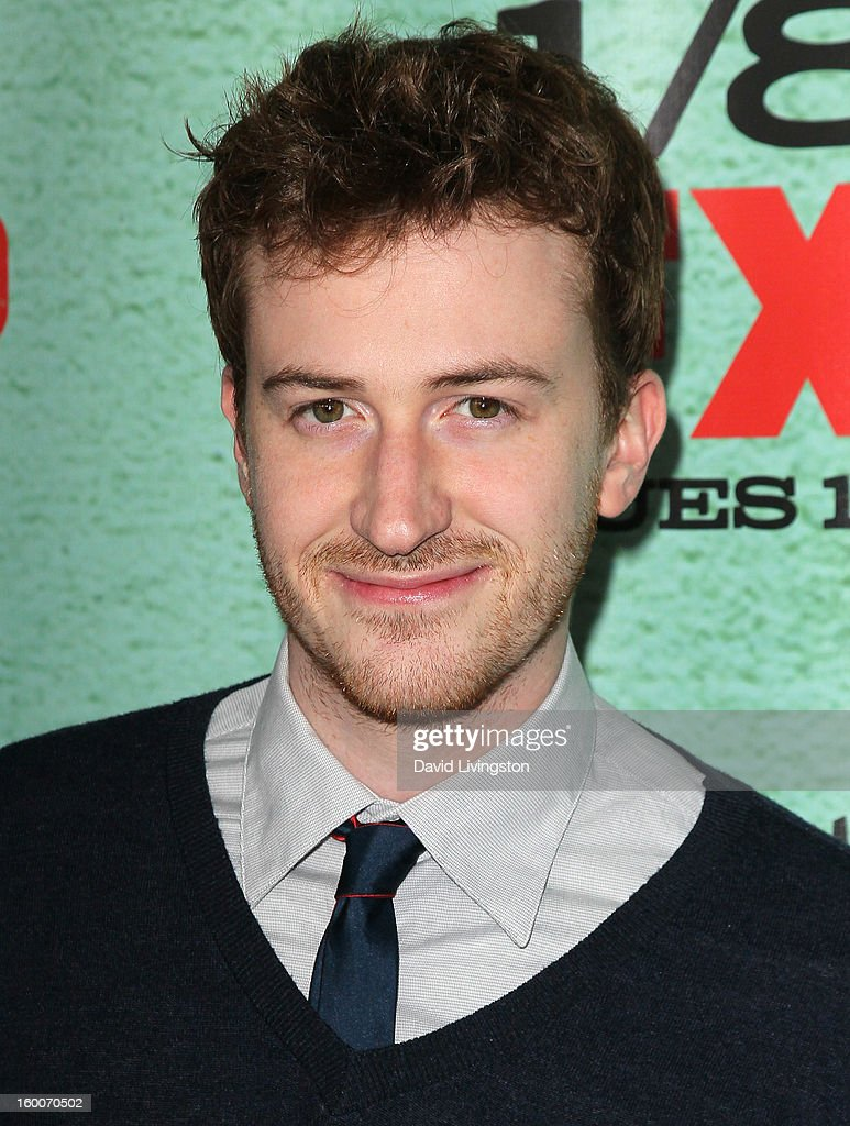 Actor Joseph Mazzello attends the premiere of FX's 'Justified' Season 4 at the Paramount Theater on the Paramount Studios lot on January 5, 2013 in Hollywood, California.