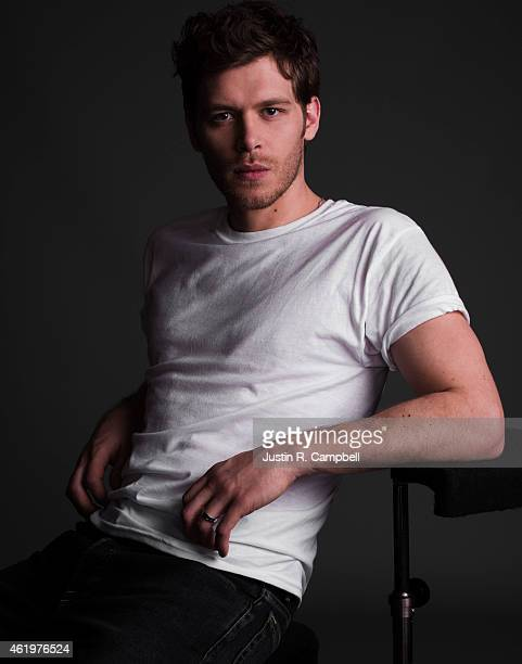 Actor Joseph Morgan is photographed for Just Jared on January 10 2015 in Los Angeles California