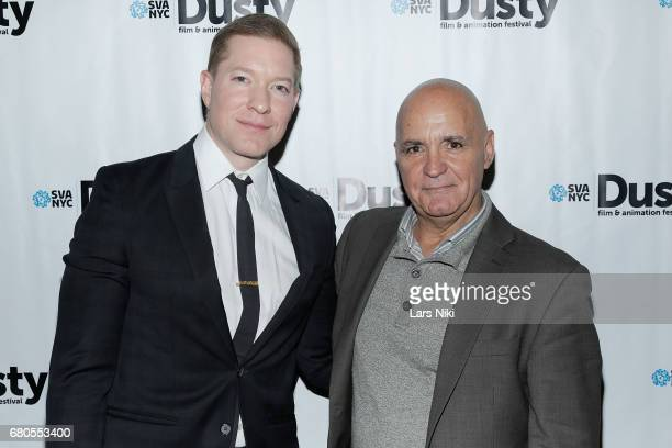 Actor Joseph Sikora and Sal Petrosino attend the 28th Dusty Film Animation Festival at SVA Theater on May 8 2017 in New York City