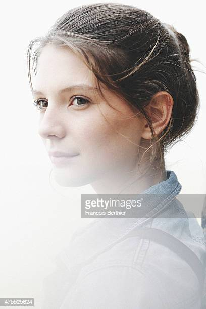 Actor Josephine Japy is photographed on May 15 2015 in Cannes France