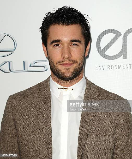 Actor Josh Bowman attends the 2014 Environmental Media Awards at Warner Bros Studios on October 18 2014 in Burbank California
