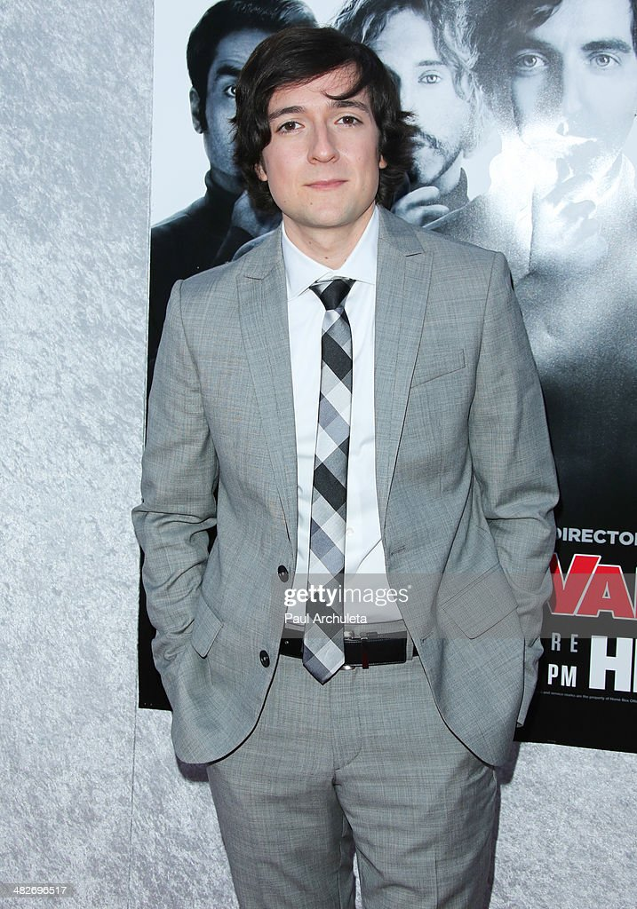 Actor Josh Brener attends the premiere of HBO's 'Silicon Valley' at Paramount Studios on April 3, 2014 in Hollywood, California.