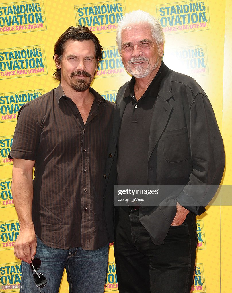Actor <a gi-track='captionPersonalityLinkClicked' href=/galleries/search?phrase=Josh+Brolin&family=editorial&specificpeople=243198 ng-click='$event.stopPropagation()'>Josh Brolin</a> and producer <a gi-track='captionPersonalityLinkClicked' href=/galleries/search?phrase=James+Brolin&family=editorial&specificpeople=213029 ng-click='$event.stopPropagation()'>James Brolin</a> attend the premiere of 'Standing Ovation' at Universal CityWalk on July 10, 2010 in Universal City, California.