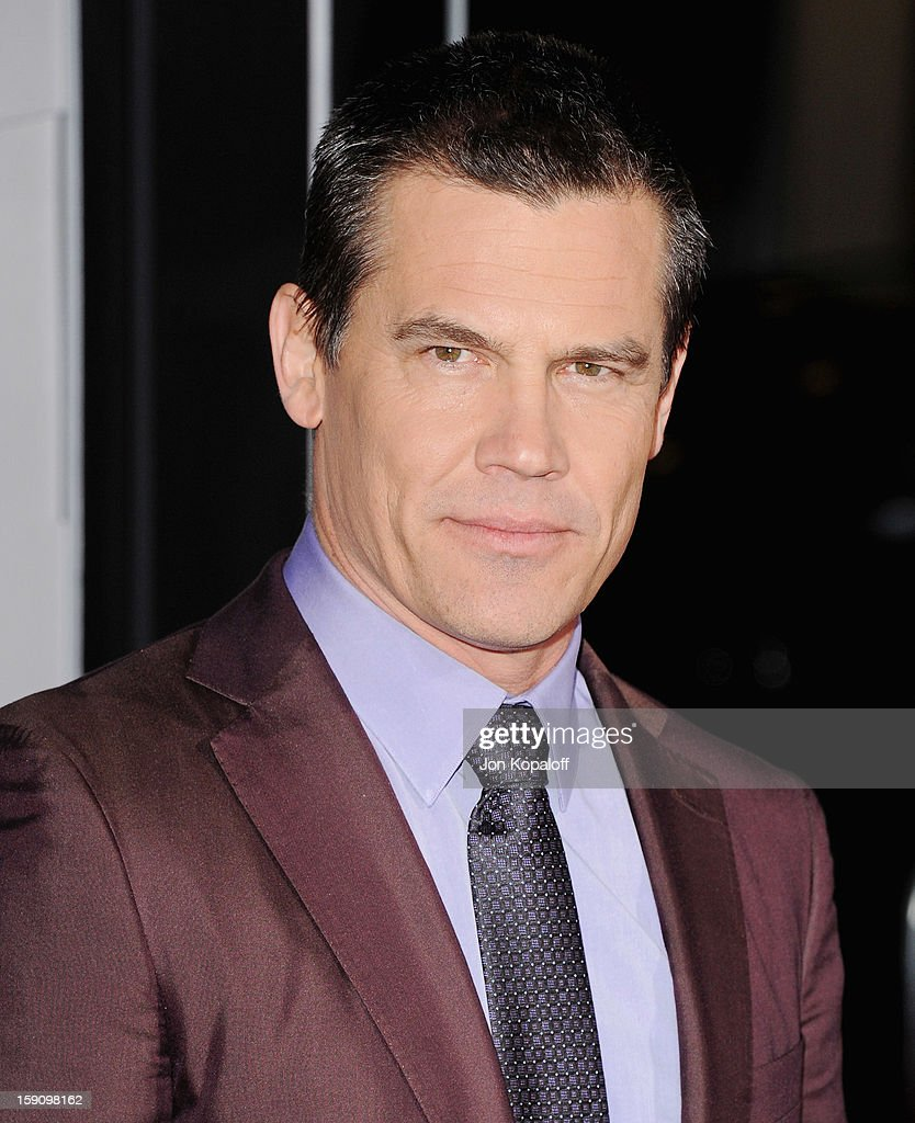 Actor Josh Brolin arrives at the Los Angeles Premiere 'Gangster Squad' at Grauman's Chinese Theatre on January 7, 2013 in Hollywood, California.