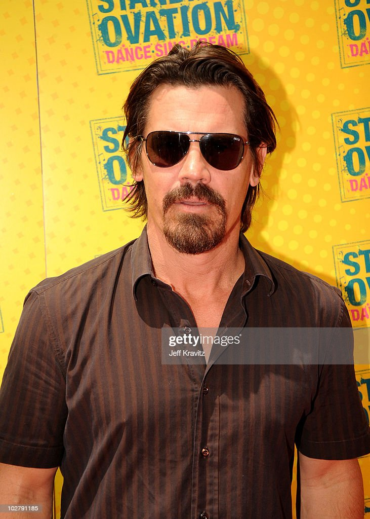Actor Josh Brolin arrives at the Los Angeles premiere of 'Standing Ovation' at Universal CityWalk on July 10 2010 in Universal City California
