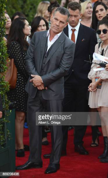Actor Josh Brolin arrives for the Premiere Of Columbia Pictures' 'Only The Brave' held at Regency Village Theatre on October 8 2017 in Westwood...