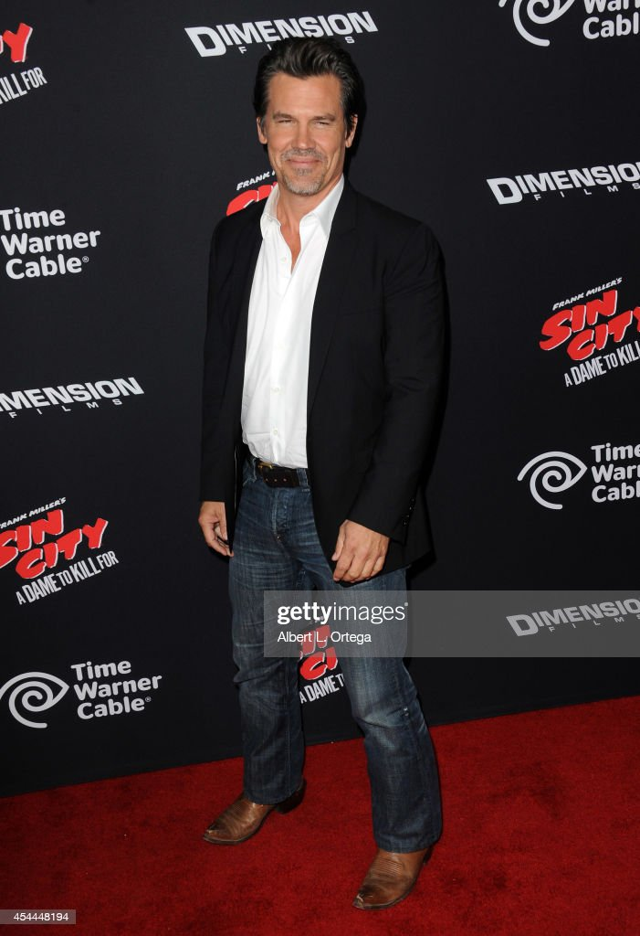 Actor <a gi-track='captionPersonalityLinkClicked' href=/galleries/search?phrase=Josh+Brolin&family=editorial&specificpeople=243198 ng-click='$event.stopPropagation()'>Josh Brolin</a> arrives for the Premiere Of Dimension Films' 'Sin City: A Dame To Kill For' held at the TCL Chinese Theatre on August 19, 2014 in Hollywood, California.