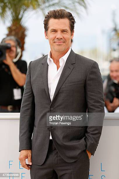 Actor Josh Brolin attends a photocall for 'Sicario' during the 68th annual Cannes Film Festival on May 19 2015 in Cannes France