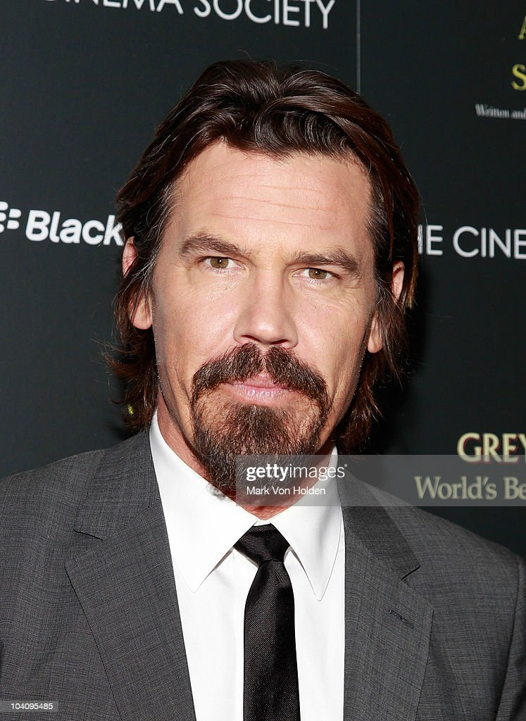 Actor <a gi-track='captionPersonalityLinkClicked' href=/galleries/search?phrase=Josh+Brolin&family=editorial&specificpeople=243198 ng-click='$event.stopPropagation()'>Josh Brolin</a> attends the Cinema Society and BlackBerry Torch screening of 'You Will Meet a Tall Dark Stranger' at MOMA on September 14, 2010 in New York City.
