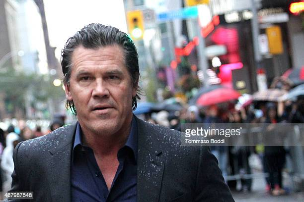 Actor Josh Brolin attends 'The Danish Girl' premiere during the 2015 Toronto International Film Festival held at the Princess of Wales Theatre on...