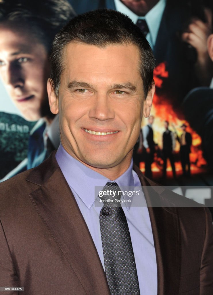 Actor Josh Brolin attends the 'Gangster Squad' Los Angeles premiere held at Grauman's Chinese Theatre on January 7, 2013 in Hollywood, California.