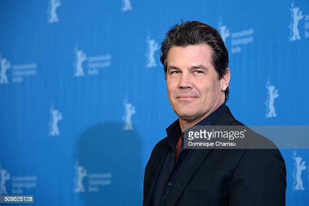 Actor Josh Brolin attends the 'Hail Caesar' photo call during the 66th Berlinale International Film Festival Berlin at Grand Hyatt Hotel on February...
