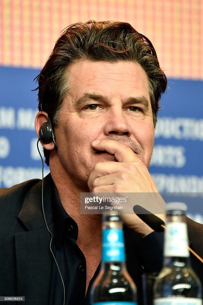 Actor <a gi-track='captionPersonalityLinkClicked' href=/galleries/search?phrase=Josh+Brolin&family=editorial&specificpeople=243198 ng-click='$event.stopPropagation()'>Josh Brolin</a> attends the 'Hail, Caesar!' press conference during the 66th Berlinale International Film Festival Berlin at Grand Hyatt Hotel on February 11, 2016 in Berlin, Germany.