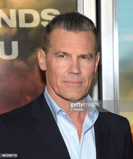 Actor Josh Brolin attends the 'Only The Brave' New York Screening at iPic Theater on October 17 2017 in New York City
