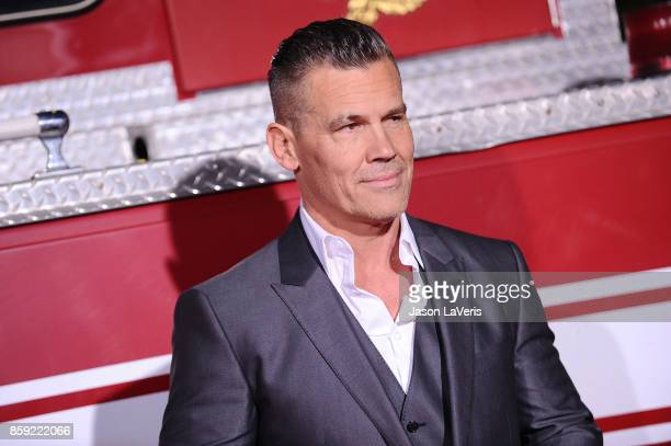 Actor Josh Brolin attends the premiere of 'Only the Brave' at Regency Village Theatre on October 8 2017 in Westwood California