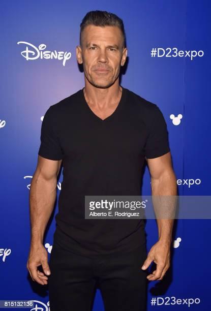 Actor Josh Brolin of AVENGERS INFINITY WAR took part today in the Walt Disney Studios live action presentation at Disney's D23 EXPO 2017 in Anaheim...