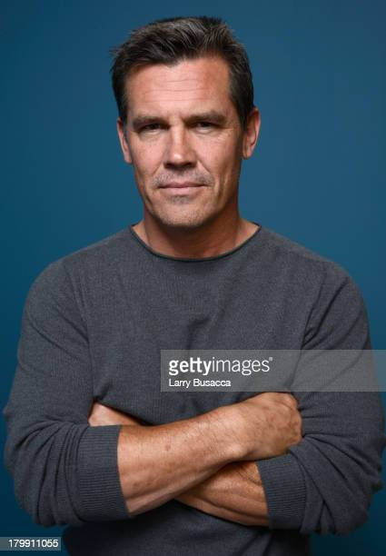 Actor Josh Brolin of 'Labor Day' poses at the Guess Portrait Studio during 2013 Toronto International Film Festival on September 7 2013 in Toronto...