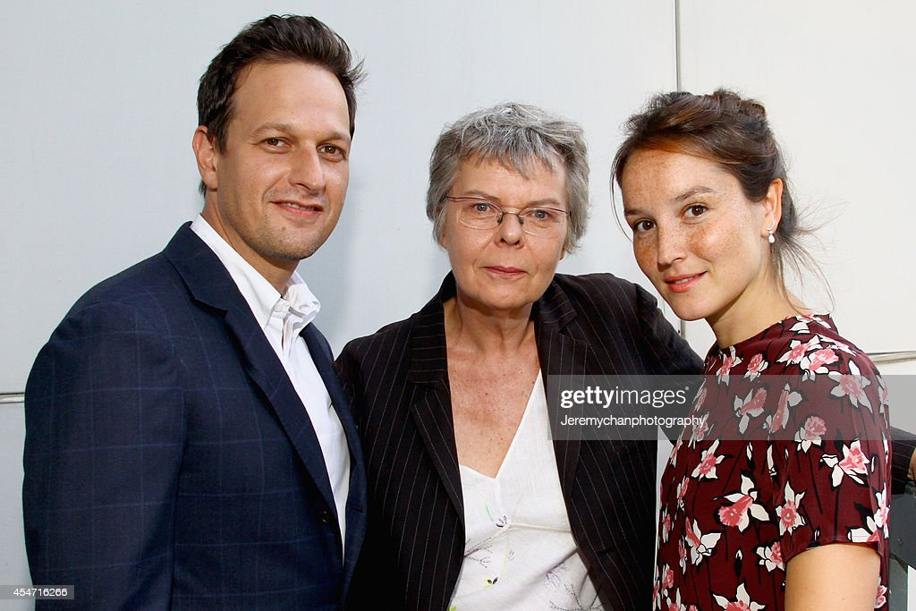 Actor <a gi-track='captionPersonalityLinkClicked' href=/galleries/search?phrase=Josh+Charles&family=editorial&specificpeople=240614 ng-click='$event.stopPropagation()'>Josh Charles</a>, film director Pascale Ferran and actress Anaïs Demoustier attends the 'Bird People' premiere during the 2014 Toronto International Film Festival at Scotiabank Theatre on September 5, 2014 in Toronto, Canada.