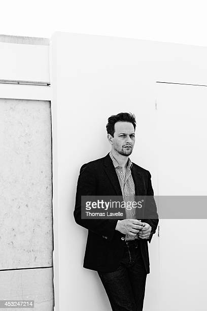 Actor Josh Charles is photographed for Self Assignment on May 20 2014 in Cannes France