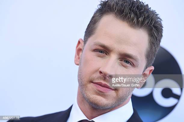 Actor Josh Dallas arrives at ABC's 'Once Upon A Time' Season 4 Red Carpet Premiere at the El Capitan Theatre on September 21 2014 in Hollywood...