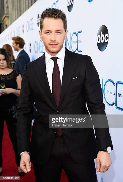 Actor Josh Dallas attends a screening of ABC's 'Once Upon A Time' Season 4 at the El Capitan Theatre on September 21 2014 in Hollywood California