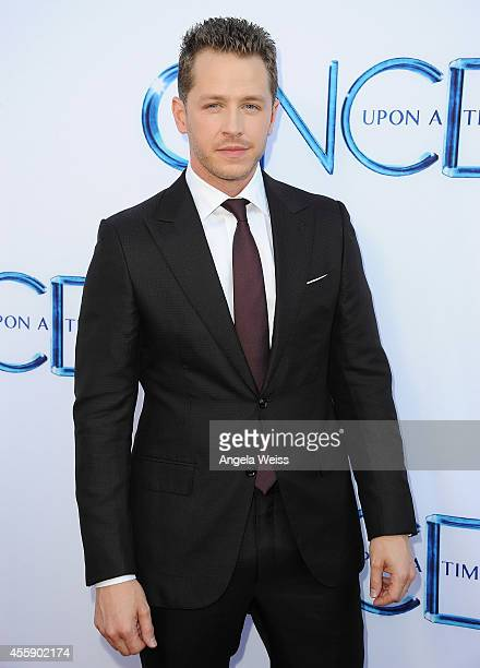 Actor Josh Dallas attends ABC's 'Once Upon A Time' Season 4 red carpet premiere at the El Capitan Theatre on September 21 2014 in Hollywood California