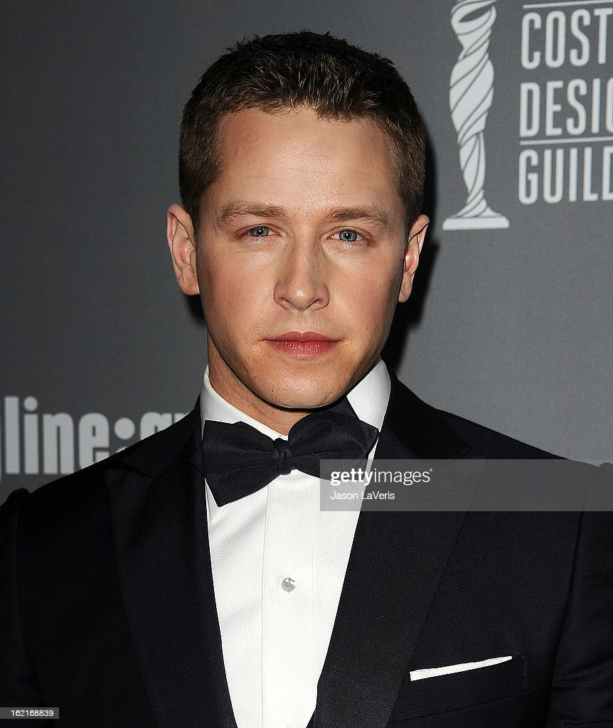 Actor Josh Dallas attends the 15th annual Costume Designers Guild Awards at The Beverly Hilton Hotel on February 19, 2013 in Beverly Hills, California.