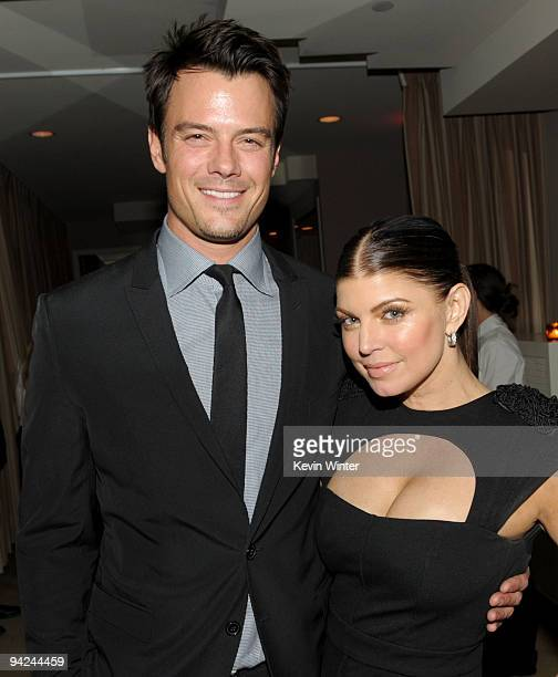 Actor Josh Duhamel and his wife actress/singer Stacy 'Fergie' Ferguson arrive at the after party for the premiere of The Weinstein Companys' 'Nine'...