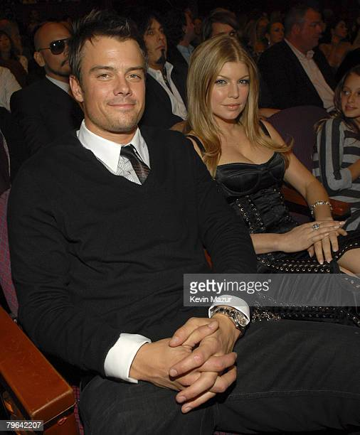 Actor Josh Duhamel and Singer Fergie at Conde Nast Media Group presents Movies Rock at the Kodak Theater on December 2 2007 in Los Angeles
