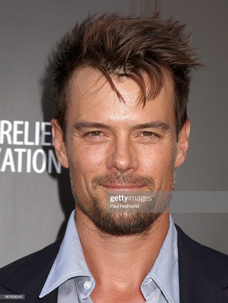 Actor <a gi-track='captionPersonalityLinkClicked' href=/galleries/search?phrase=Josh+Duhamel&family=editorial&specificpeople=208740 ng-click='$event.stopPropagation()'>Josh Duhamel</a> arrives at the Armani party during Paris Photo LA - Opening Night at Paramount Studios on April 25, 2013 in Hollywood, California.