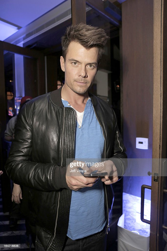 Actor Josh Duhamel attends a celebration of the BlackBerry Z10 Smartphone launch at Cecconi's Restaurant on March 20, 2013 in Los Angeles, California.