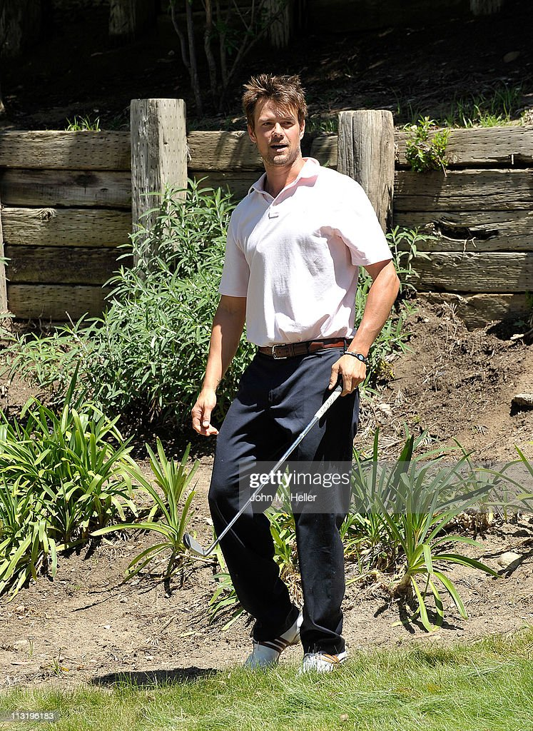 Actor <a gi-track='captionPersonalityLinkClicked' href=/galleries/search?phrase=Josh+Duhamel&family=editorial&specificpeople=208740 ng-click='$event.stopPropagation()'>Josh Duhamel</a> attends actor James Caan's Golf Tournament at El Caballero Country Club on April 25, 2011 in Tarzana, California.