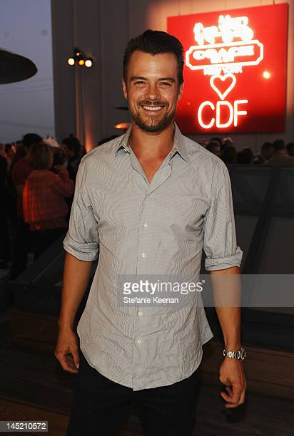 Actor Josh Duhamel attends an evening of cocktails and shopping to benefit the Children's Defense Fund hosted by Coach held at Bad Robot on May 23...
