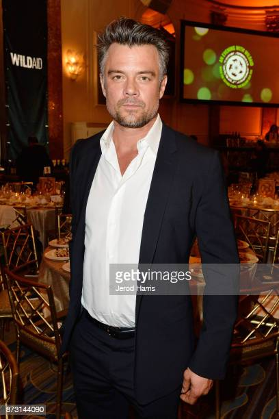 Actor Josh Duhamel attends an 'Evening With WildAid' at the Beverly Wilshire Four Seasons Hotel on November 11 2017 in Beverly Hills California