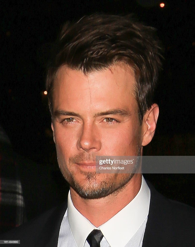 Actor <a gi-track='captionPersonalityLinkClicked' href=/galleries/search?phrase=Josh+Duhamel&family=editorial&specificpeople=208740 ng-click='$event.stopPropagation()'>Josh Duhamel</a> attends 'Safe Haven' New York Screening at Sunshine Landmark on February 11, 2013 in New York City.