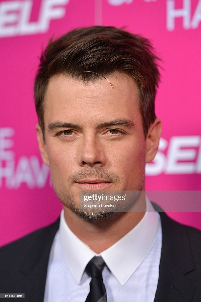 Actor <a gi-track='captionPersonalityLinkClicked' href=/galleries/search?phrase=Josh+Duhamel&family=editorial&specificpeople=208740 ng-click='$event.stopPropagation()'>Josh Duhamel</a> attends SELF Magazine and Relativity Media's special New York screening of 'Safe Haven' at Landmark Theatres Sunshine Cinema on February 11, 2013 in New York City.