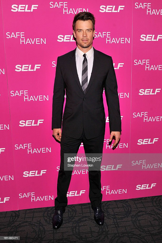 Actor Josh Duhamel attends SELF Magazine and Relativity Media's special New York screening of 'Safe Haven' at Landmark Theatres Sunshine Cinema on February 11, 2013 in New York City.