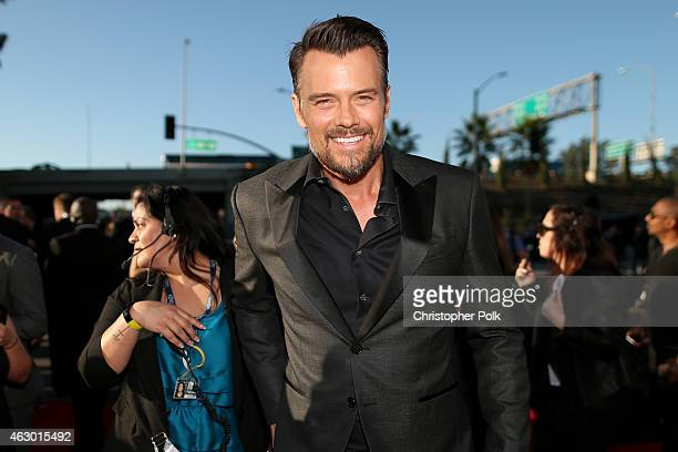 Actor Josh Duhamel attends The 57th Annual GRAMMY Awards at the STAPLES Center on February 8 2015 in Los Angeles California