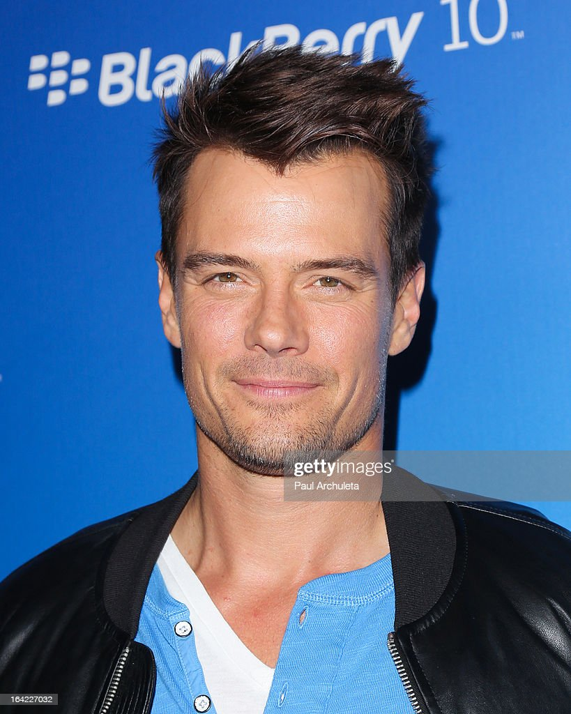 Actor Josh Duhamel attends the BlackBerry Z10 Smartphone launch party at Cecconi's Restaurant on March 20, 2013 in Los Angeles, California.