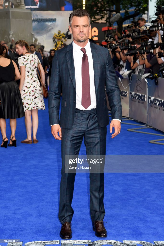 Actor Josh Duhamel attends the global premiere of 'Transformers: The Last Knight' at Cineworld Leicester Square on June 18, 2017 in London, England.