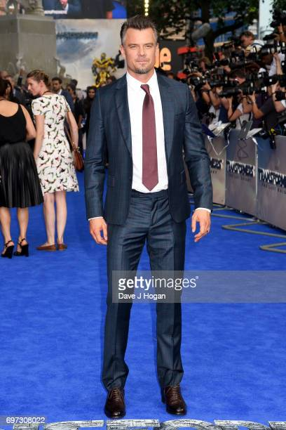 Actor Josh Duhamel attends the global premiere of 'Transformers The Last Knight' at Cineworld Leicester Square on June 18 2017 in London England
