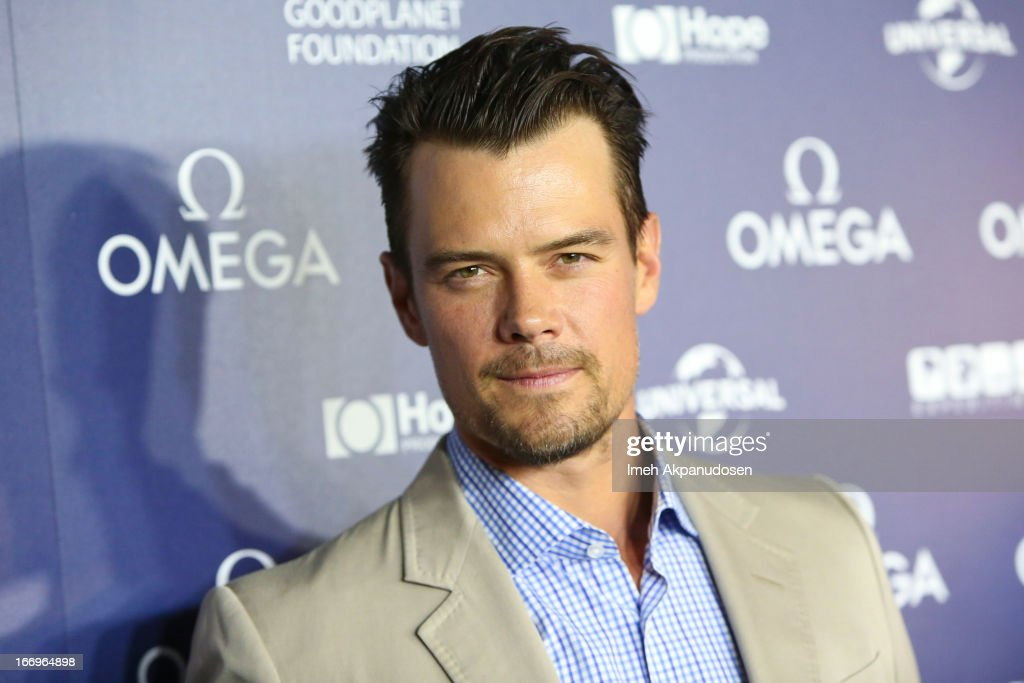 Actor <a gi-track='captionPersonalityLinkClicked' href=/galleries/search?phrase=Josh+Duhamel&family=editorial&specificpeople=208740 ng-click='$event.stopPropagation()'>Josh Duhamel</a> attends the premiere of 'Planet Ocean' at Pacific Design Center on April 18, 2013 in West Hollywood, California.