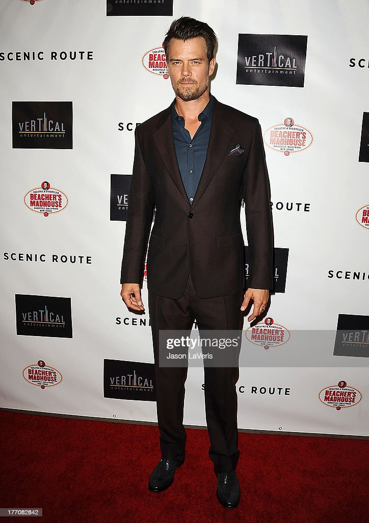 Actor Josh Duhamel attends the premiere of 'Scenic Route' at Chinese 6 Theater Hollywood on August 20, 2013 in Hollywood, California.