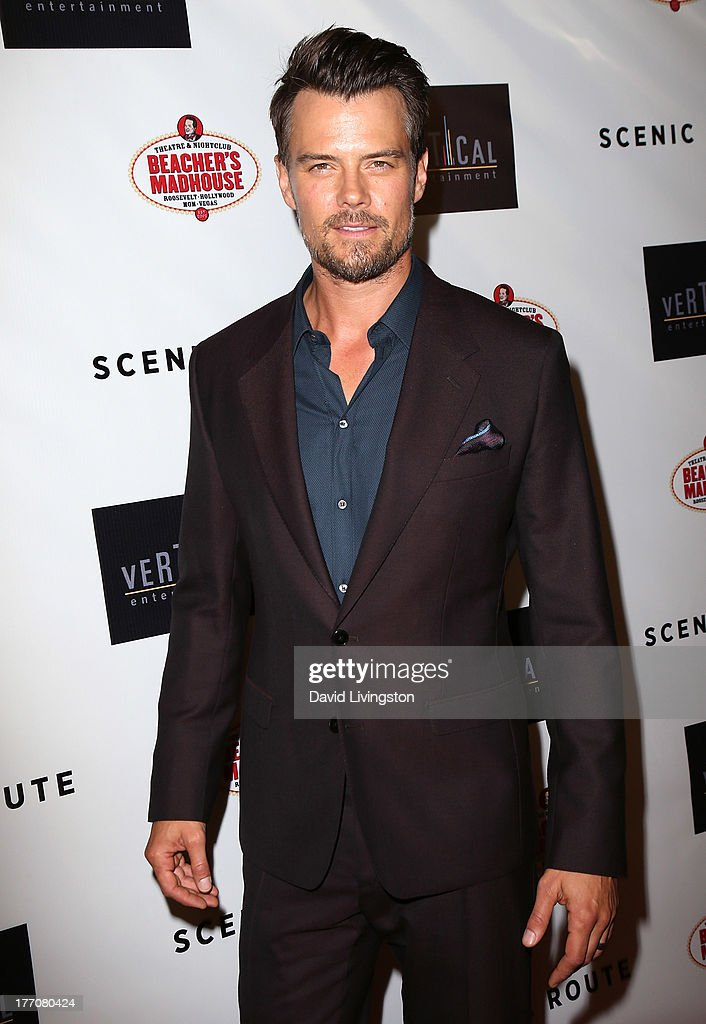 Actor Josh Duhamel attends the premiere of Vertical Entertainment's 'Scenic Route' at the Chinese 6 Theaters Hollywood on August 20, 2013 in Hollywood, California.