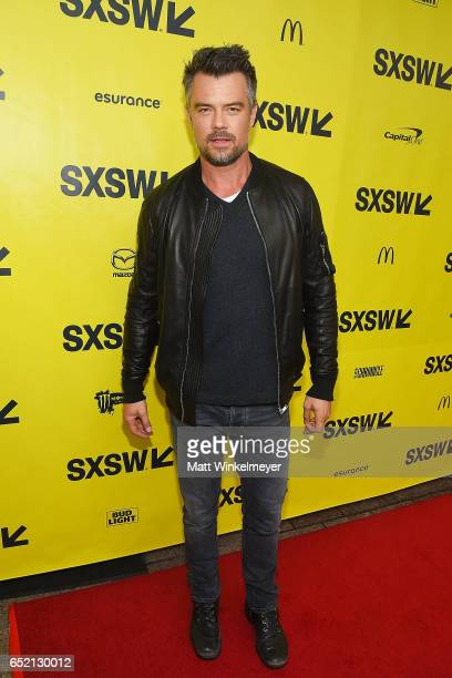 Actor Josh Duhamel attends the 'This Is Your Death' premiere 2017 SXSW Conference and Festivals on March 11 2017 in Austin Texas