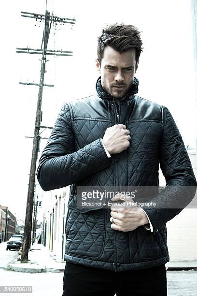 Actor Josh Duhamel is photographed for August Man on March 7 2013 in Los Angeles California Styling Ilaria Urbinati Grooming Cheri Keating Nylon...