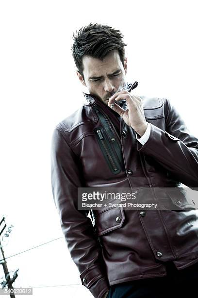 Actor Josh Duhamel is photographed for August Man on March 7 2013 in Los Angeles California Styling Ilaria Urbinati Grooming Cheri Keating
