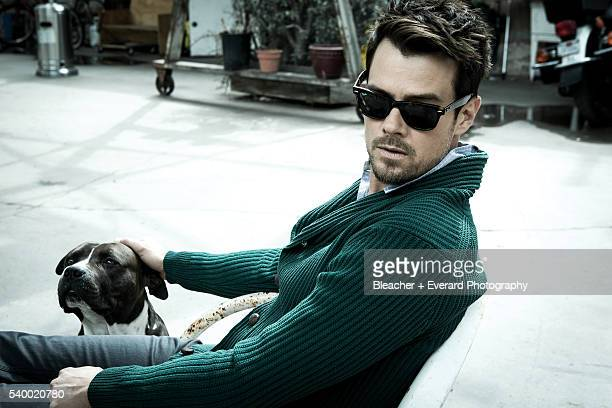 Actor Josh Duhamel is photographed for August Man on March 7 2013 in Los Angeles California Styling Ilaria Urbinati Grooming Cheri Keating Cotton...