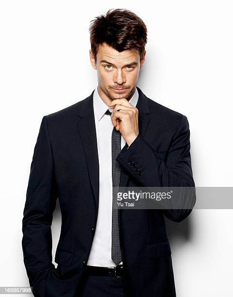 Actor Josh Duhamel is photographed for In Style Man Russia on February 16 2013 in Los Angeles California